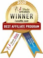 Idate Award Winner - Best Affiliate Program 2020