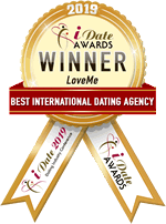 Idate Award Winner - 2019 Best International Dating Agency